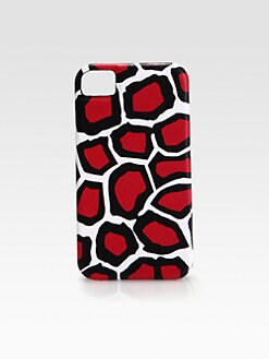Diane von Furstenberg - Leopard Print Leather Case for iPhone 4/4s