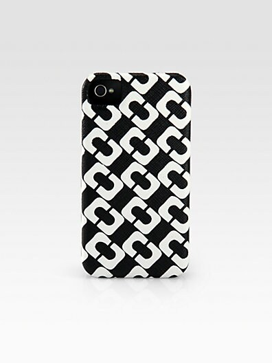 Link Pattern Leather Hardcase for iPhone 4/4s