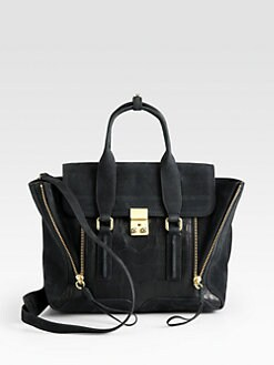 3.1 Phillip Lim - Pashli Medium Mixed-Media Satchel