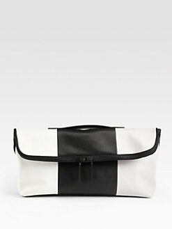 3.1 Phillip Lim - 31 Minute Colorblocked Oversized Clutch