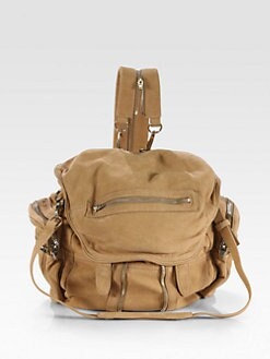 Alexander Wang - Marti Nubuck Convertible Backpack