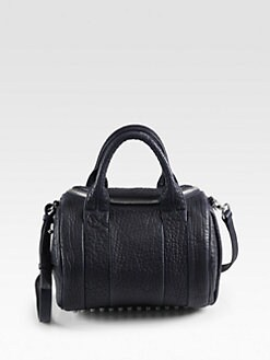 Alexander Wang - Rockie Dumbo Leather Satchel