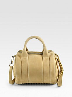Alexander Wang - Rockie Pebble Leather Satchel