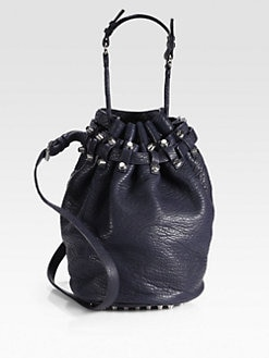 Alexander Wang - Diego Pebble Leather Bucket Bag