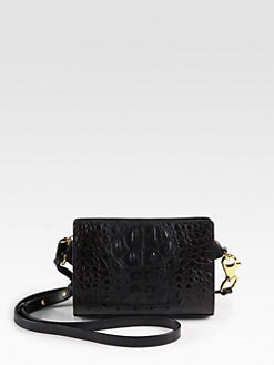 Alexander Wang - Pelican Embossed Leather Shoulder Bag