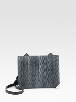 Alexander Wang - Prisma Embossed Leather Shoulder Bag
