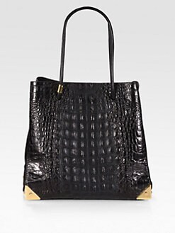 Alexander Wang - Prisma Textured Leather and Suede Tote