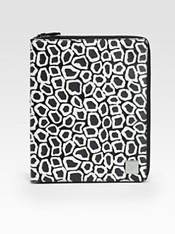 Diane von Furstenberg - Printed Leather Cover for iPad