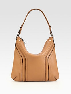 Milly - Zoey Leather Bucket Hobo
