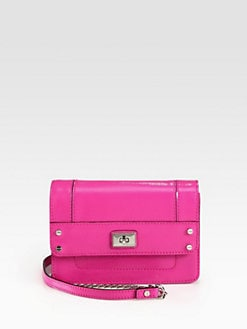 Milly - Colette Patent Leather Mini Shoulder Bag