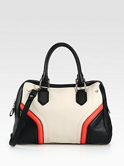 Milly - Zoey Colorblock Leather Satchel