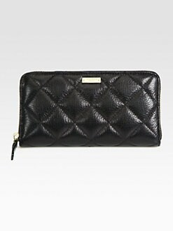 Kate Spade New York - Lacey Quilted Zip-Around Wallet