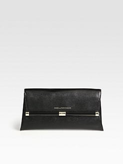 Diane von Furstenberg - Lizard-Embossed Leather Clutch