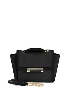 Diane von Furstenberg - Multi-Textured Leather Crossbody Bag
