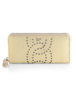 Diane von Furstenberg - Sutra Perforated Zip-Around Wallet