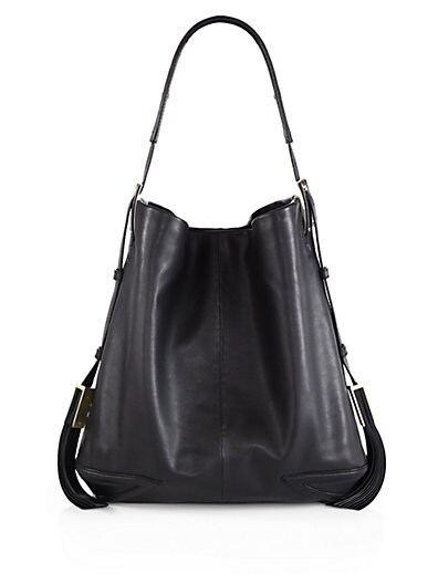 Goldie Leather Hobo