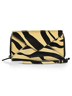Loeffler Randall - Calf Hair Zip Wallet