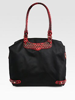 Rebecca Minkoff - Studded Nylon Travel Tote