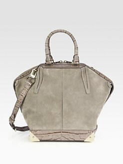 Alexander Wang - Emile Suede and Leather Tote