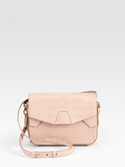 Alexander Wang - Croc-Embossed Trifold Shoulder Bag