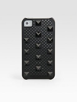 Rebecca Minkoff - Perforated Studded Hardcase For iPhone 4/4s