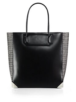 Alexander Wang - Prisma Contrast Embossed Leather Tote