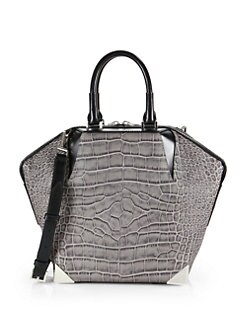 Alexander Wang - Prisma Emile Embossed Leather Tote
