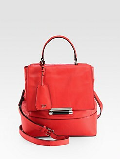 Diane von Furstenberg - 440 Small Leather Top Handle Bag