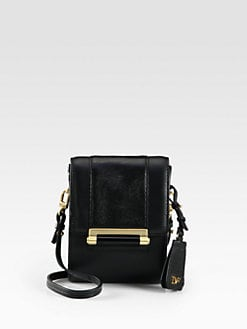 Diane von Furstenberg - Parker Mini Mixed-Media Shoulder Bag