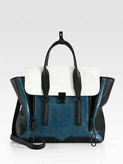 3.1 Phillip Lim - Pashli Colorblock Satchel