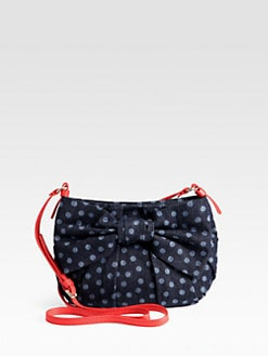 RED Valentino - Denim Polka Dot Crossbody