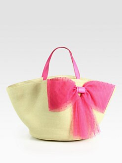 RED Valentino - Eco Straw Beach Tote