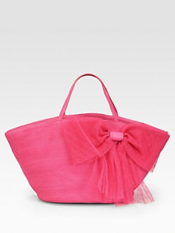 RED Valentino - Straw Beach Tote