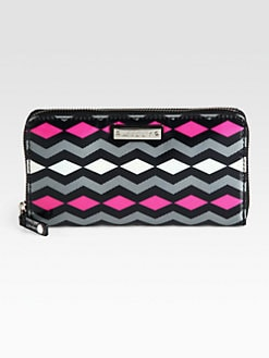 Milly - Zig Zag Print Zip-Around Wallet