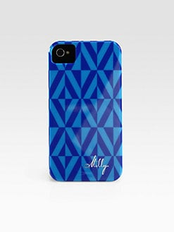 Milly - Geometric Print Hardcase for iPhone 4/4s
