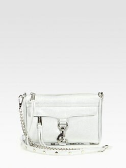 Rebecca Minkoff - Mini Metallic Mac Convertible Clutch