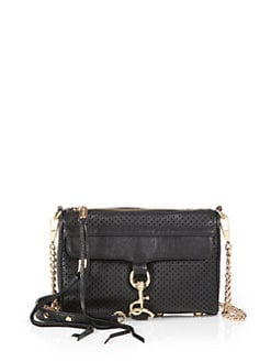 Rebecca Minkoff - Perforated Mini Mac Convertible Clutch