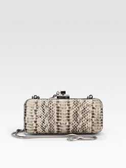 Rachel Zoe - Margaux Snake Embossed Leather Clutch