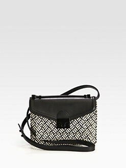 Loeffler Randall - Rider Mixed-Media Mini Crossbody