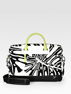 Diane von Furstenberg - Printed Canvas Case for iPad 1,2 & 3