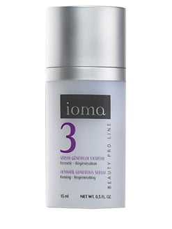 ioma - Ultimate Generous Serum/0.5 oz.