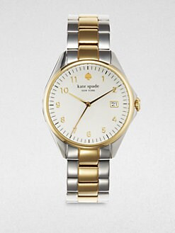 Kate Spade New York - Seaport Two-Tone Date-Function Watch