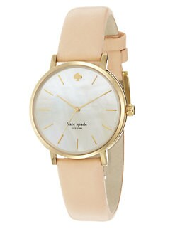 Kate Spade New York - Classic Metro Goldtone Watch