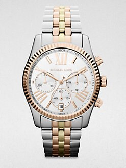 Michael Kors - Trilogy Lexington Stainless Steel Chrogograph Watch