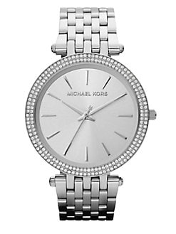 Michael Kors - Crystal Stainless Steel Watch