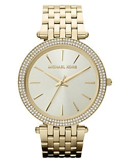 Michael Kors - Darci Goldtone Stainless Steel Watch