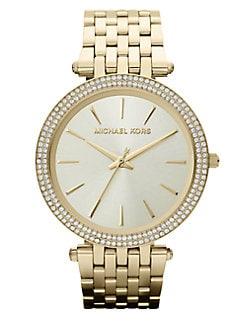 Michael Kors - Darci Goldtone Stainless Steel Watch