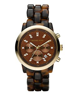 Michael Kors - Tortoise Chronograph Watch