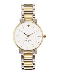 Kate Spade New York - Gramercy Two-Tone Stainless Steel Watch