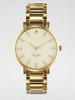 Kate Spade New York - Gramercy Goldtone Stainless Steel Watch